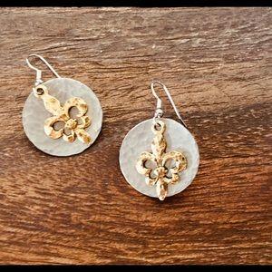 Fleur Delis Earrings
